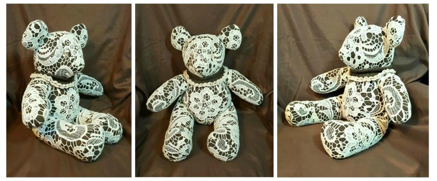 Jenna's bear Collage #1